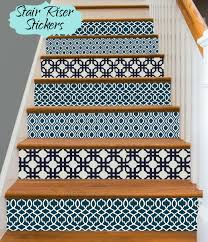 12 stunning examples of decorative stair riser decals the