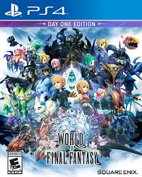Final Fantasy 1 World Map by Amazon Com World Of Final Fantasy Playstation 4 Square Enix