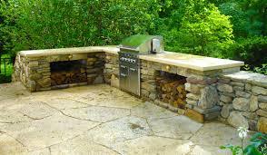 Bull Outdoor Kitchen Outdoor Kitchens Hirsch Brick And Stone