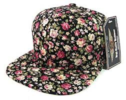 floral snapback plain floral snapback hats fashion all flower