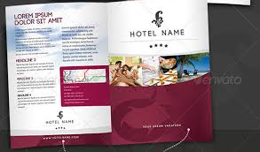 free templates for hotel brochures hotel brochure template bbapowers info