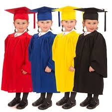 graduation gowns graduation gowns and cap set for children early years shop