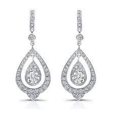 teardrop diamond earrings london gold beverley k vintage teardrop diamond earrings