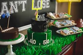 football party ideas kara s party ideas football 1st birthday party kara s party ideas
