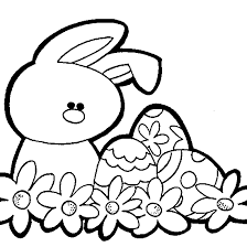 cute easter bunny coloring pages getcoloringpages com