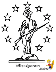 american revolution coloring pages free coloring home