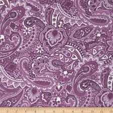 gadabout paisley purple from fabricdotcom from springs creative