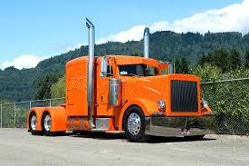 peterbilt trucks images lorry peterbilt orange automobile