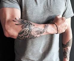 60 bird tattoos for men from owls to eagles