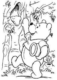 winnie pooh care piglet coloring winnie pooh