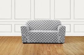 Check Armchair Gray Armchair Slipcover Custom Ikea Ektorp Armchair Slipcover In