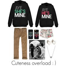 cute couple matching polyvore