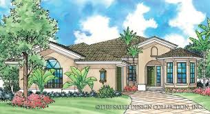 Spanish Revival House Plans by Spanish Colonial House Plans Home Plans Sater Design Collection
