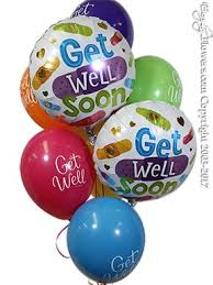 get balloons delivered your feeling better soon balloons delivered by everyday