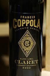 francis coppola claret 2002 francis ford coppola cabernet sauvignon diamond collection