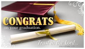congrats on your graduation trust in the lord greeting picture