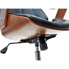 chaise bureau design pas cher serge chaise de bureau noyer et noir achat vente fauteuil de