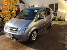 opel silver used opel meriva 2006 petrol 1 4 for sale in dublin