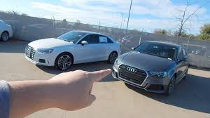 difference between audi a3 se and sport 2017 audi a3 spot the difference quattro v fwd