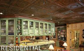 Metal Ceiling Tiles by Tin Ceiling Tiles In Golden For Your Luxurious Room Whomestudio