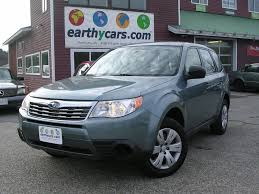 forester subaru 2009 earthy cars blog earthy car of the week 2009 blue subaru