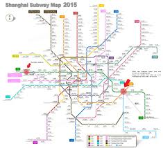 Shanghai Metro Map by Explaining China At Length Passing Thru