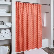 buy orange shower curtain from bed bath u0026 beyond