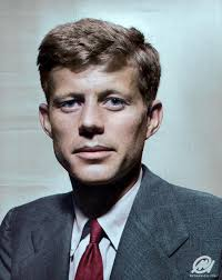 jfk jr young young john f kennedy 1947 colorizedhistory