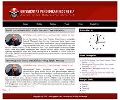 cara membuat halaman utama web dengan php web portal berita sederhana dengan php dan mysql
