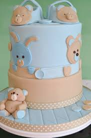 baby boy christening cake with matching cupcakes inspired by the
