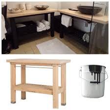 fabriquer meuble salle de bain beton cellulaire une salle de bain ikea hacks ikea hack ikea hackers and house
