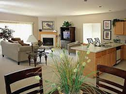 kitchen living room ideas open concept living room integreted with bar kitchen and dining