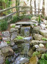 Garden Waterfall Ideas Best Backyard Waterfalls Ideas On Garden Waterfall Backyard