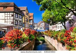 Colmar France Amazing Beautiful Places France Colorful Colmar Stock Photo
