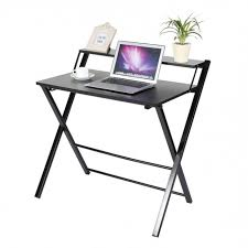 Wooden Computer Desk Plans Computer Table Modern Wooden Desk Folding Pertaining To New Home