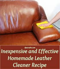 Whats Best To Clean Leather Sofa Inexpensive And Effective Leather Cleaner Recipe Diy