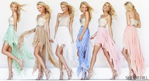 pretty in pastel prom dresses for 2014