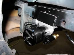 automotive electric water pump install of a remote electric water pump on a fox body mustang fast