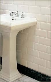 beltile metro beveled edge subway tile 3x6 white glossy white
