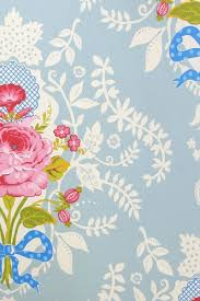 pip studio the official website shabby chic wallpaper blue
