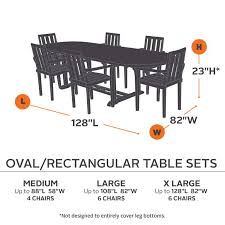 Oval Table Covers Outdoor Furniture by Hickory Rectangle Oval Table And Chair Covers