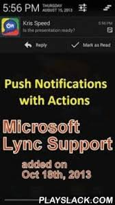 microsoft lync 2013 for android shoretel mobility client android app playslack the