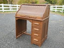 Small Oak Roll Top Desk Sold Antique Oak Roll Top Desk Small Size Central Va Small