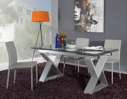modern grey dining table dining room modern dining space interior decor ideas with