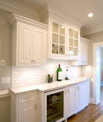 White Inset Kitchen Cabinets Kitchen Remodel Transitional Project 15 Walker Woodworking