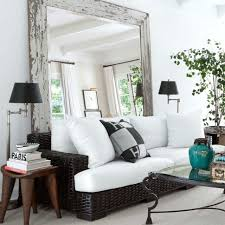 livingroom mirrors how to a small room look bigger with mirrors popsugar home