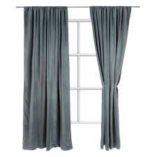 Grey And Green Curtains Samana Velvet Curtain Grey Green