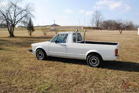 volkswagen rabbit truck vw turbo diesel pickup
