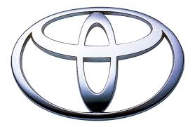 toyota logo toyota 3d silver