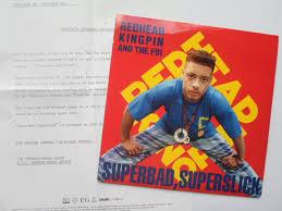 redhead kingpin super bad super slick records lps vinyl and cds